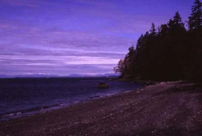 Sunset Beach, Lummi Island