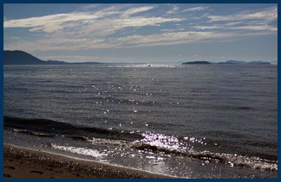 view from Lummi Island