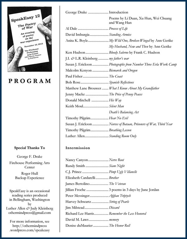 SpeakEasy 12 program