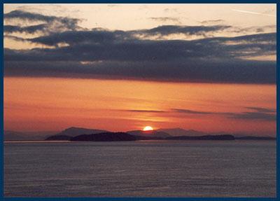 Lummi sunset 0005 © Luther Allen