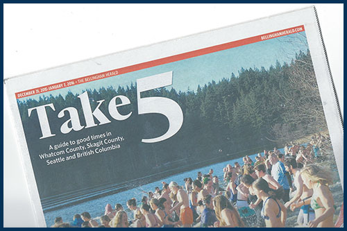 Take 5 - Bellingham Herald