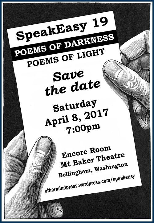 SpeakEasy 19: Poems of darkness, poems of light