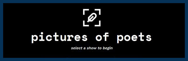 logo: pictures of poets
